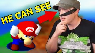 Obvious Cheater Fakes Blindfolded Super Mario 64 Speedrun