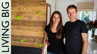 Oli and Holly are a couple who aren't afraid to break the norms. When they made the decision to build a Tiny House on wheels, this couple constructed a home ...