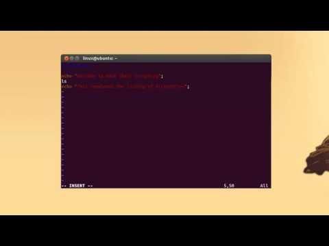How To Write A Shell Script Using Bash Shell In Ubuntu
