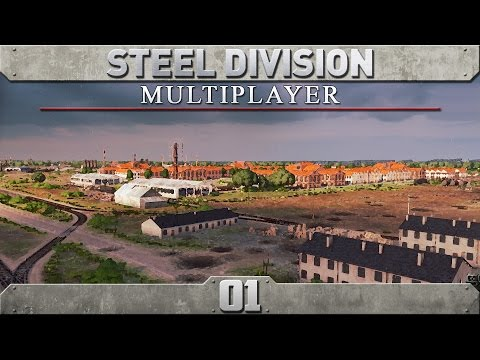 Steel Division: Normandy 44 Multiplayer (4v4) - Episode 1 ...Chaos!...
