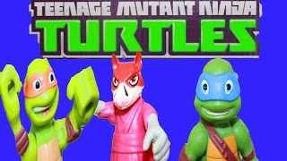 TMNT Teenage Mutant Ninja Turtles Pizza Half Shell Toys Video Fighting Master Splinter Funny Epic