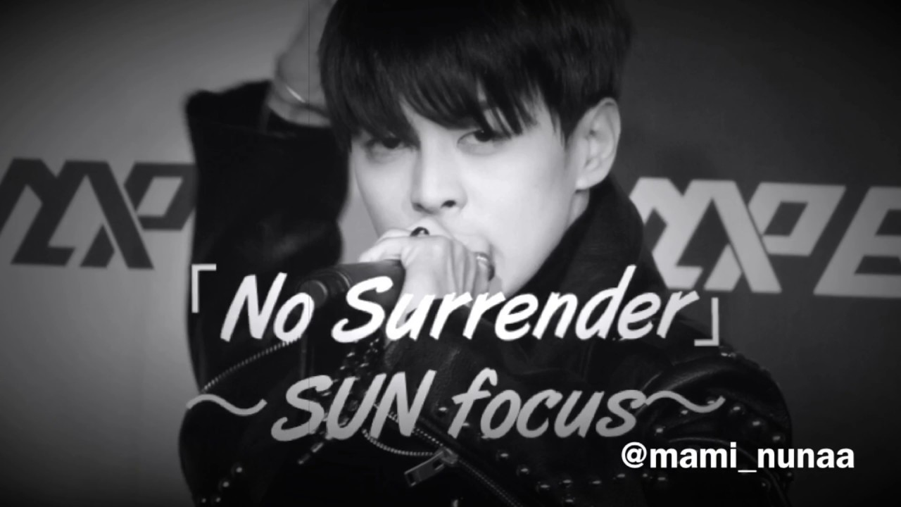 MAP6(맵식스)「No Surrender」~SUN(썬) 직캠~ - YouTube