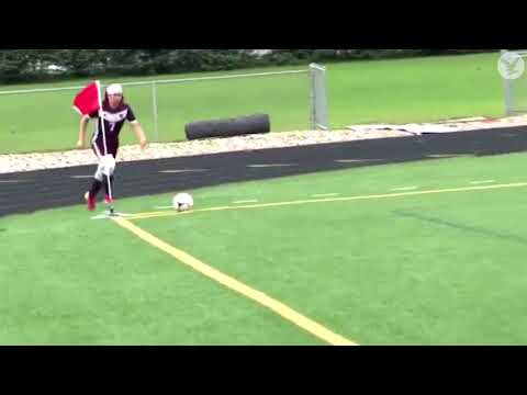 The JV Show - Soccer Player Scores A Goal With His Butt