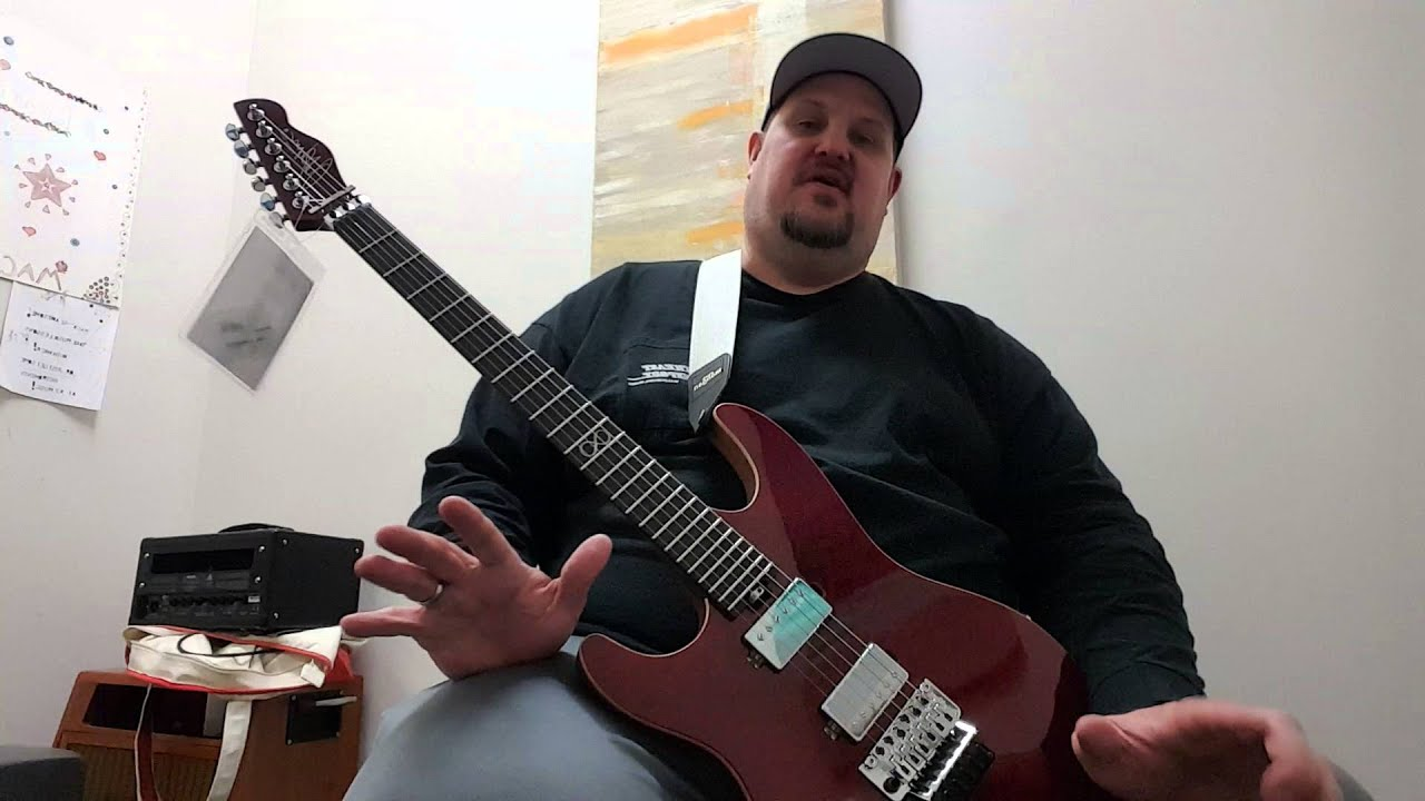 chapman guitars ml1 norseman demo review youtube. Black Bedroom Furniture Sets. Home Design Ideas