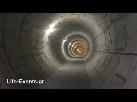 Η εξέλιξη των εργασιών στο Μετρό της Θεσσαλονίκης