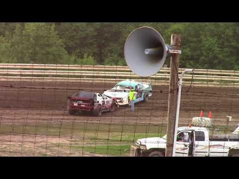 Hummingbird Speedway (6-16-18): Cypress Clock & Gift Shop Street Stock Heat Race #1