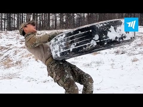 Chinese Special Forces Hardest Workouts | Muscle Madness