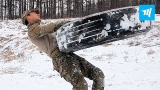 Chinese Special Forces Hardest Workouts   Muscle Madness
