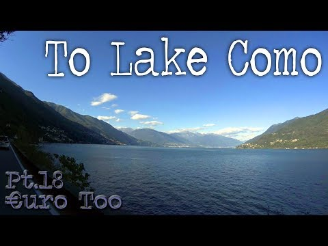 €uroToo Pt.18 'To Lake Como'