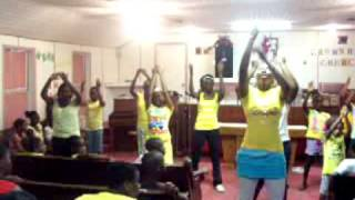 marvin sapp he saw the best in me praise dance vbs