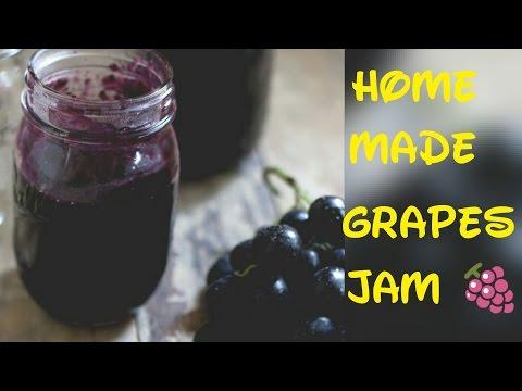 How to make Grape Jam | Home made Jam | Easiest Jam Recipe | Super easy Grape Jam