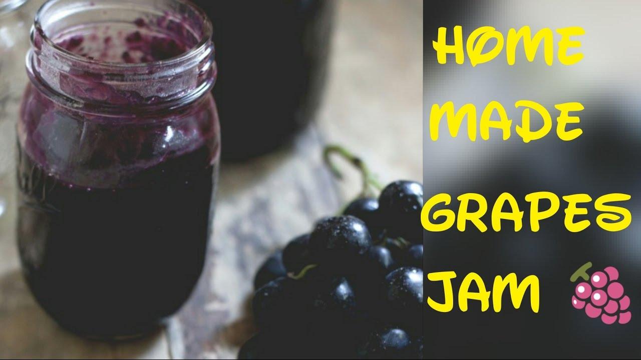 How To Make Grape Jam Home Made