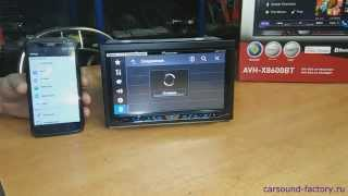 Обзор автомагнитолы Pioneer avh-x8600bt