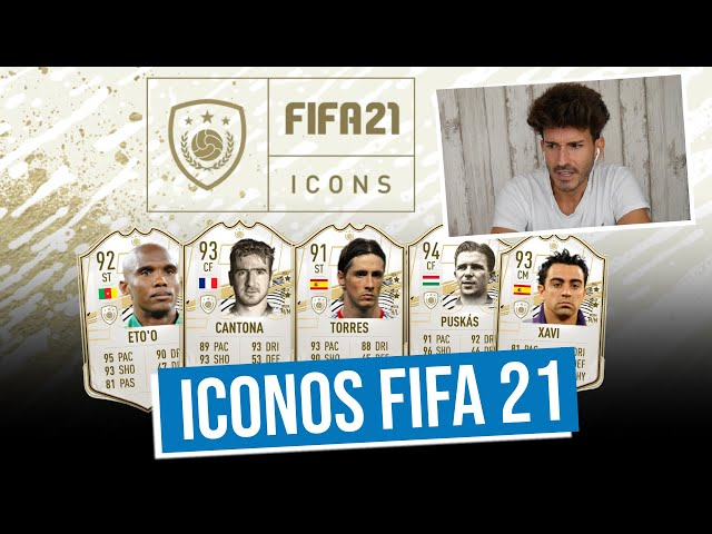 REACCIONANDO a los ICONOS de FIFA 21 | ¿SON JUSTAS las MEDIAS?