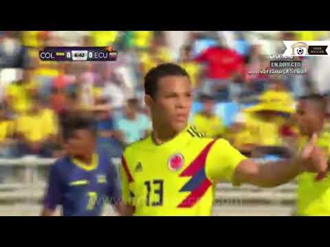 Final Juegos Bolivarianos 2017 Ecuador u17 vs Colombia u17