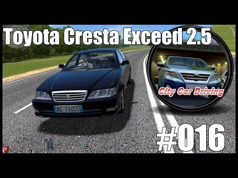 #016 City Car Driving   Toyota Cresta Exceed 2.5 [Deutsch] Test Drive