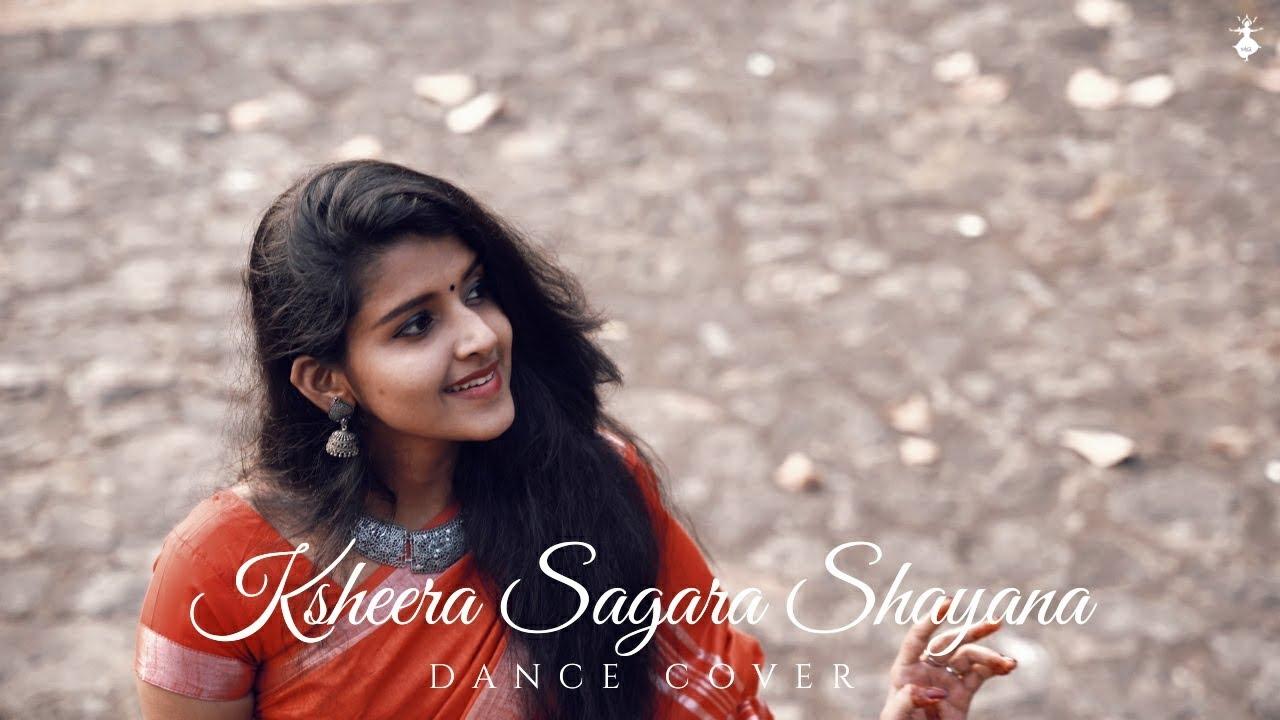 KSHEERA SAGARA SHAYANA| DANCE COVER |KEERTHANA VAIDYANATHAN |CLASSICAL|TEAM YUKTA