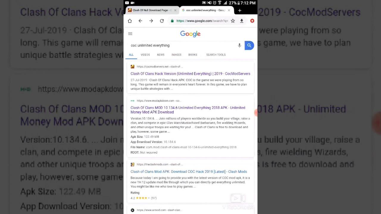 Coc Developer Build Apk 2019