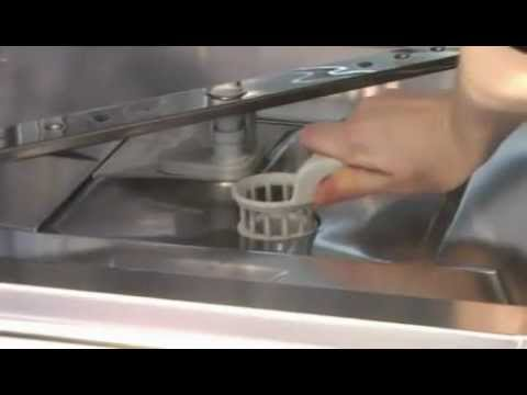 Removing A Miele Dishwasher Filter Youtube