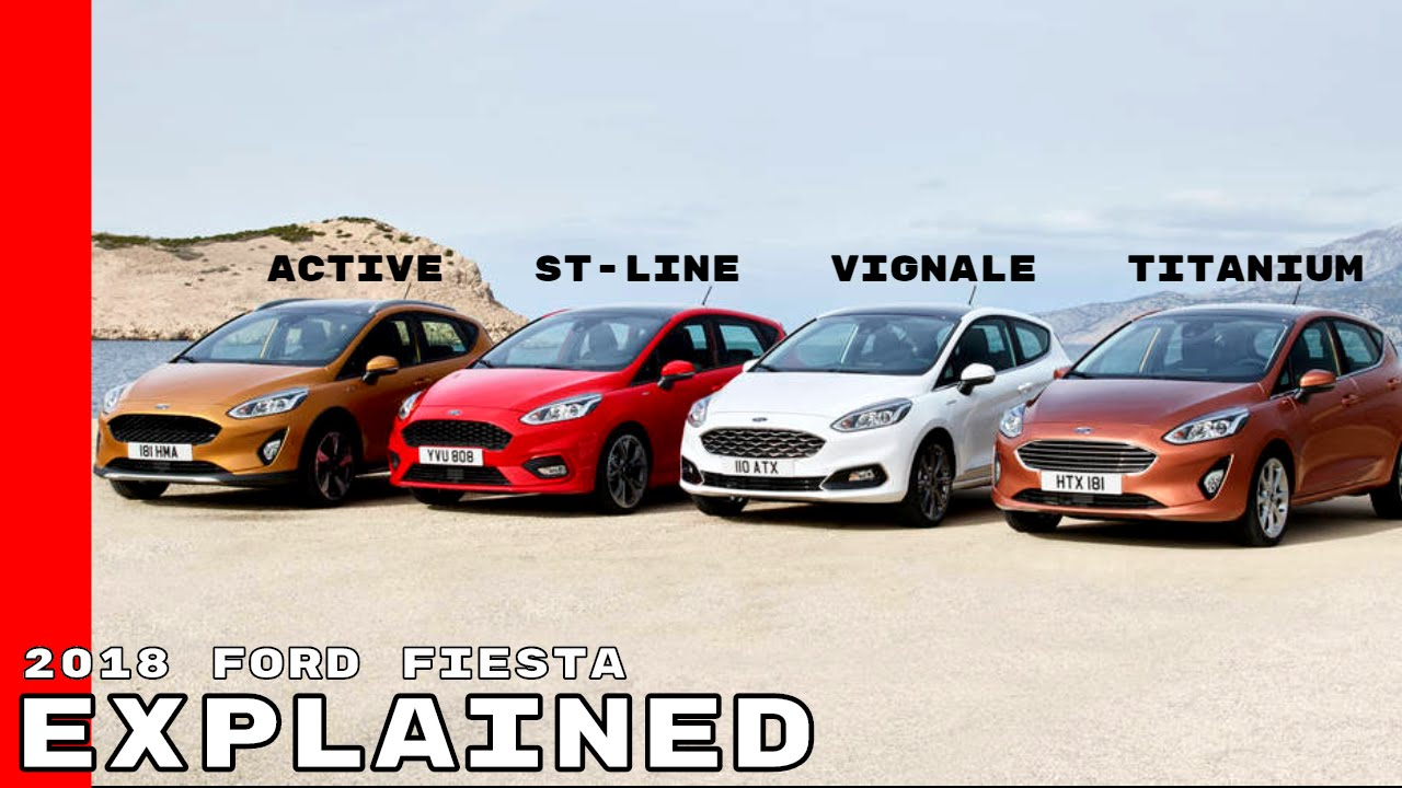 2018 ford fiesta. plain fiesta 2018 ford fiesta active vignale stline titanium explained with ford fiesta