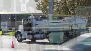 Fatal Bike vs. Debris Truck Accident
