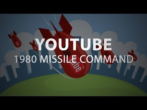 Youtube 1980 Missile Command Easter EGG!