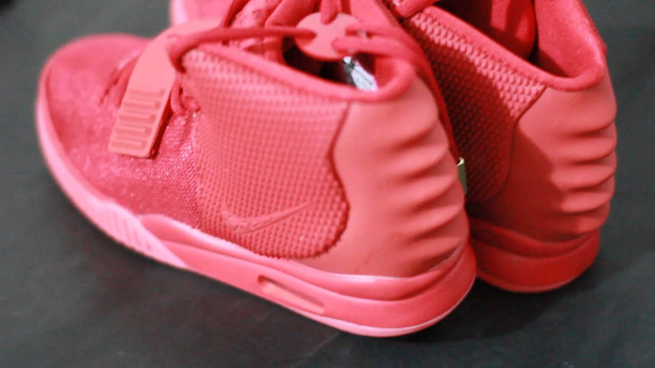 329ff26fa79be Flawless Kanye West Replica Air Yeezy 2 Red October Glow In Dark HD youtube  Video