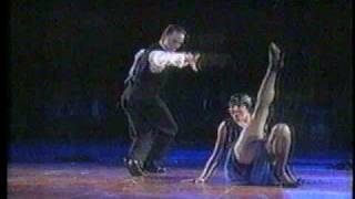 Professional Dancer Falls On Floor During Contest