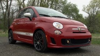 2012 Fiat 500 Abarth - Drive Time Review with Steve Hammes