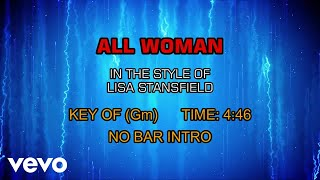 Lisa Stansfield - All Woman (Karaoke)