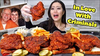 SPICIEST DEADLY SOUTHERN FRIED CHICKEN + FRIES MUKBANG 먹방 | Eating Show