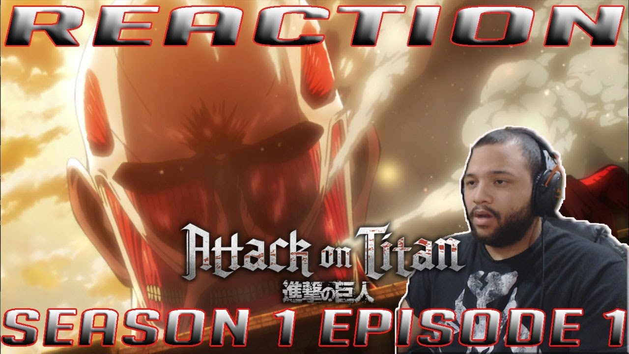 """Attack on Titan 1x1 (SUB) REACTION!! """" To You, in 2000 ..."""
