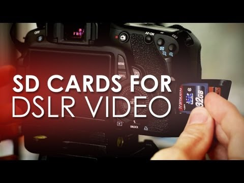 SD Cards for DSLR Video - Prevent Your Card from Auto Stopping