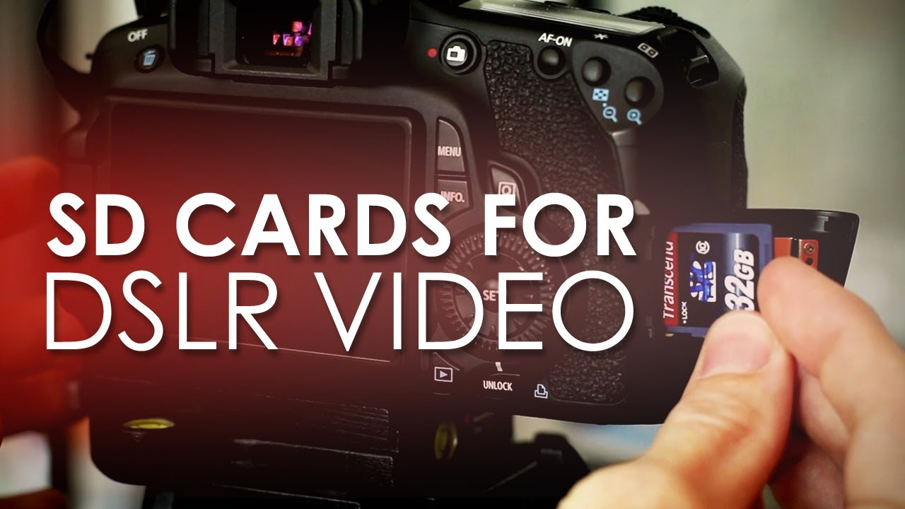 SD Cards for DSLR Video - Prevent Your Card from Auto Stopping - YouTube