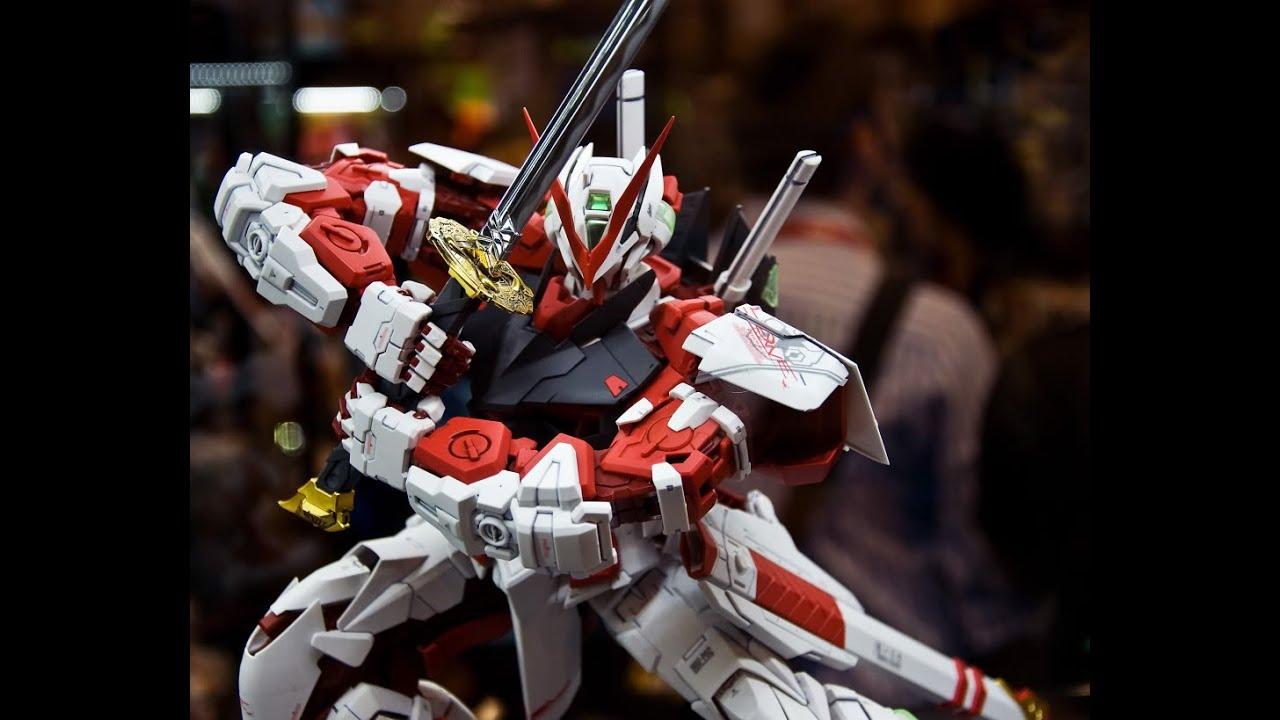 ca139823e7d8 PG 1 60 Gundam Astray Red Frame Unboxing for newtypebuild - YouTube