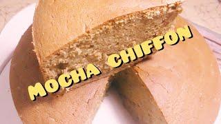 How to make mocha chiffon cake
