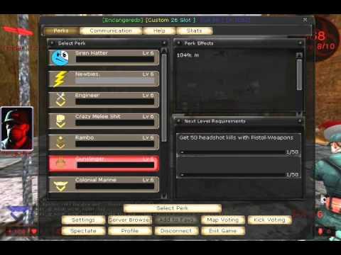Killing Floor Server Spotlight Endangereds Custom 26 Lvl 50 Part