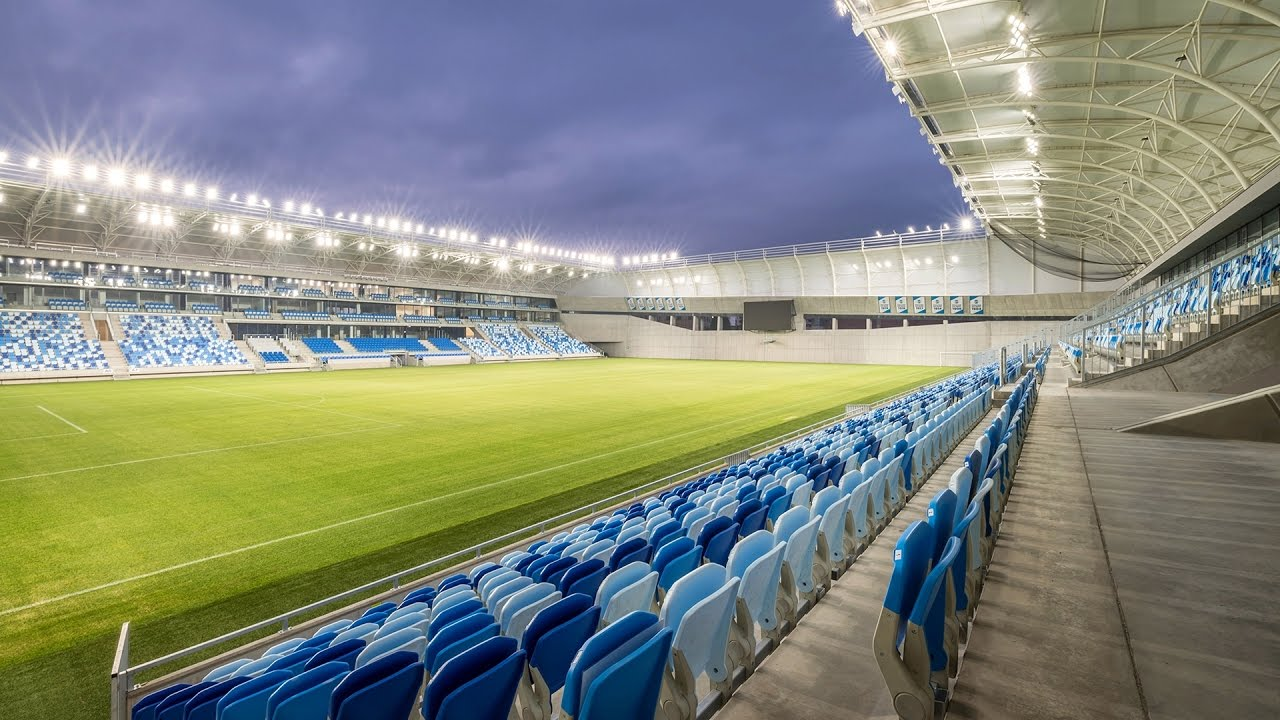 Avatar Seating at MTK Stadium - Hungary - YouTube