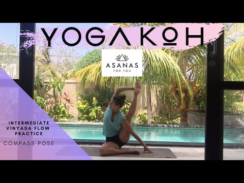 Intermediate Vinyasa Sequence - Compass Pose