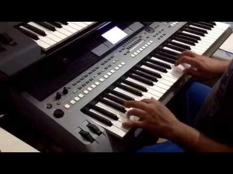 yamaha psr s670 ballad youtube. Black Bedroom Furniture Sets. Home Design Ideas