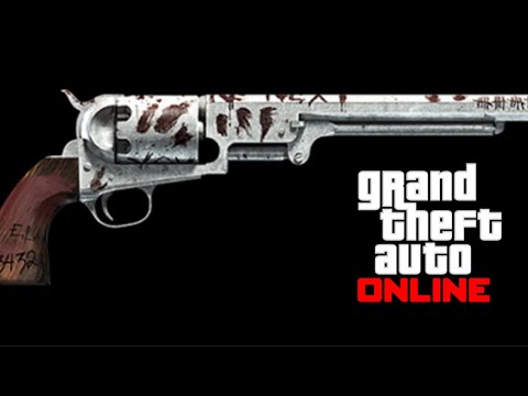 COMMENT AVOIR LE NOUVEAU REVOLVER NAVY GTA ONLINE 1.50
