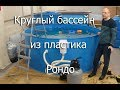 Поделки - Круглый бассейн из пластика Рондо