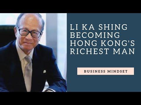 Billionaire Li Ka Shing - Becoming Hong Kong's Richest Man