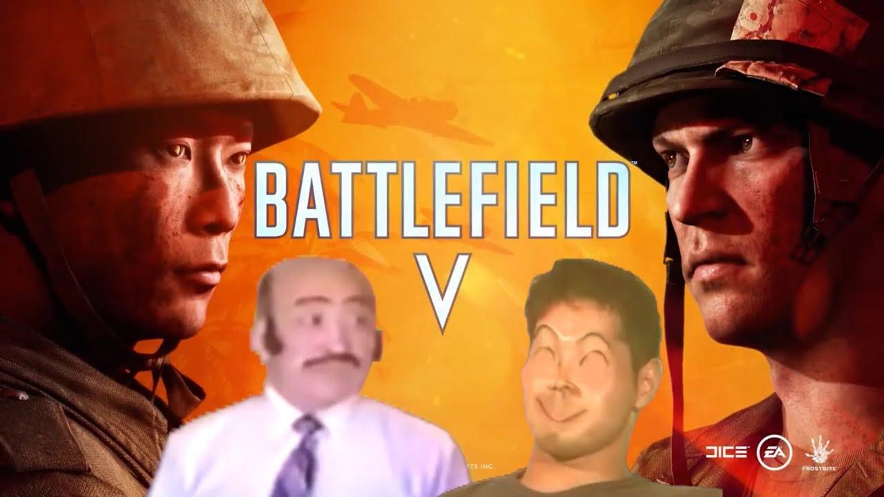 Battle Field Ⅴ(淫夢).Trailer in Pacific Ocean