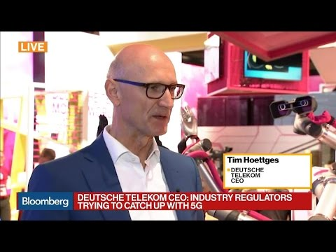 CEO Says 5G Is Topic at Deutsche Telecom