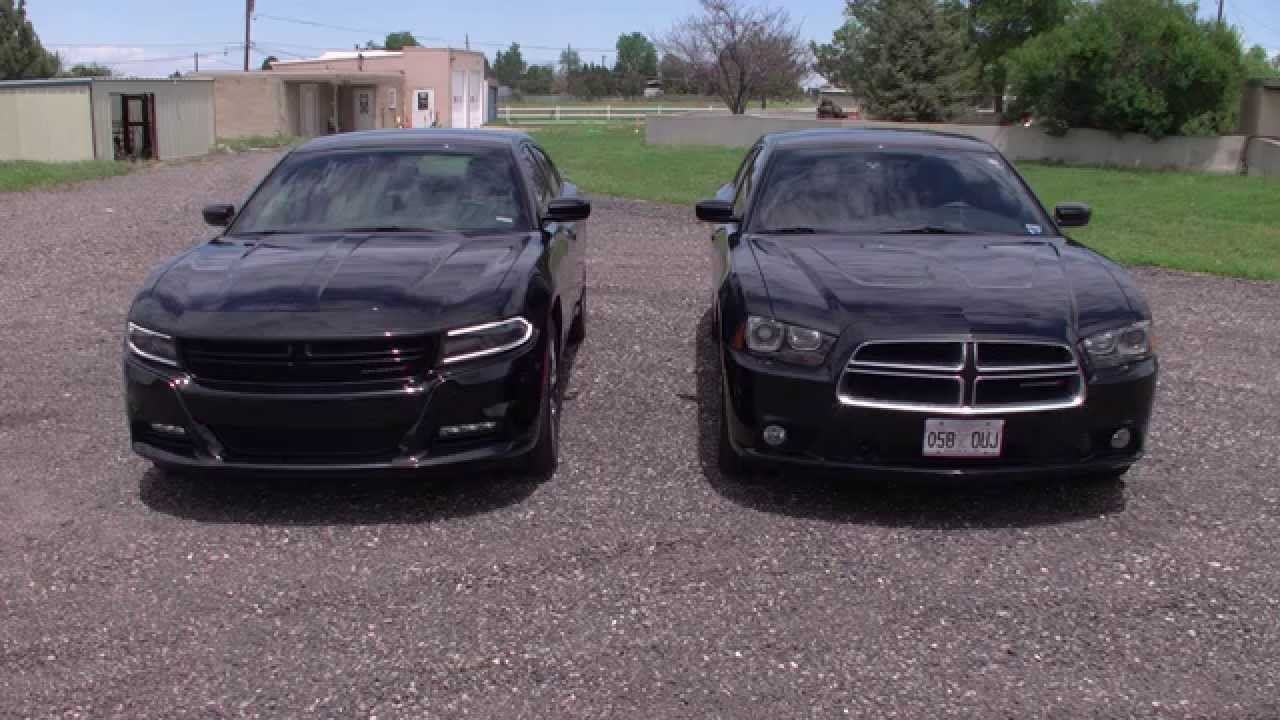 Real Comparison 2015 Dodge Charger Sxt Plus V6 V 2013 R