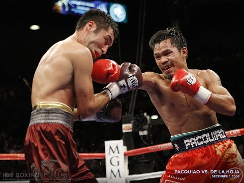 Manny Pacquiao vs Oscar de la Hoya Highlights