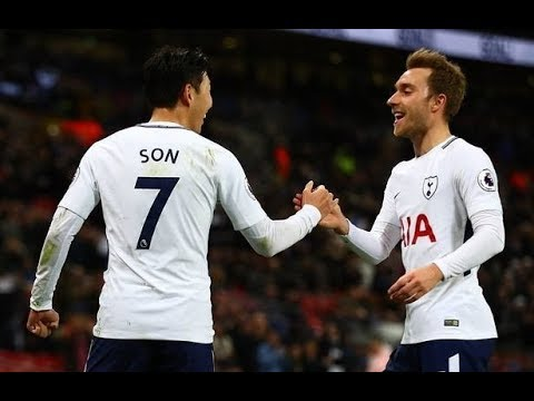 Min Son GOAL vs Everton | Tottenham vs Everton 4-0 | Stands View 13/1/2017