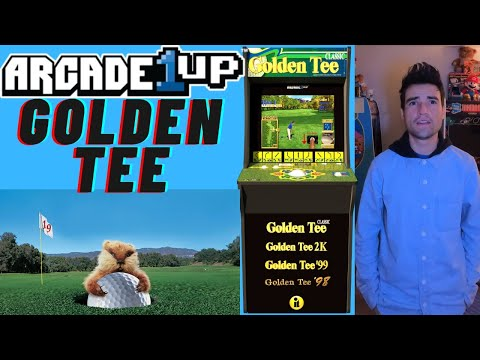 ARCADE1UP GOLDEN TEE 2021 from Brick Rod