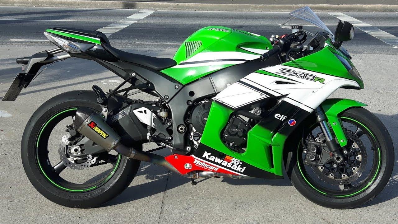Rodolfinho Da Z Testando Kawasaki Ninja Zx 10r 2012 Youtube